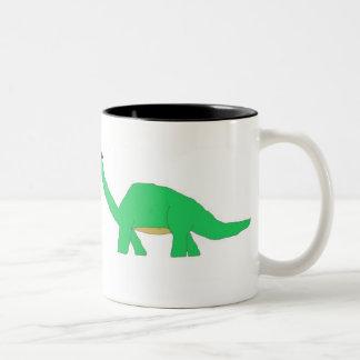 Two Halloween Dinosaurs mug