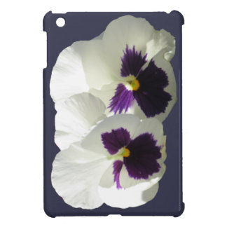 TWO HAPPY PANSIES CASE FOR THE iPad MINI