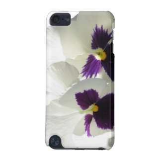 TWO HAPPY PANSIES iPod TOUCH (5TH GENERATION) CASES