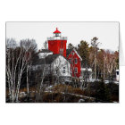 Two Harbours Lighthouse Card