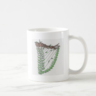 two harps coffee mug