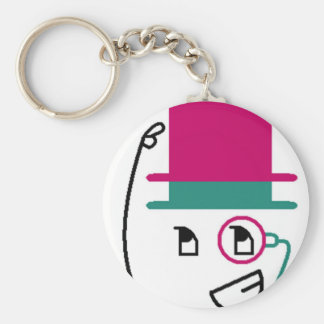 Two Hat Top Hat Keychain