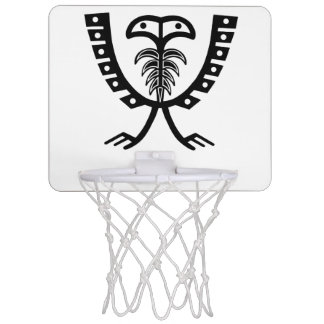 Two Headed Black Eagle Mini Basketball Hoop