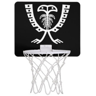 Two Headed White Eagle Mini Basketball Hoop