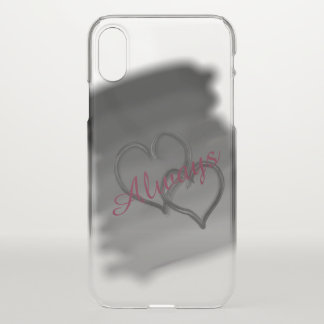 Two Hearts Always iPhone X Case