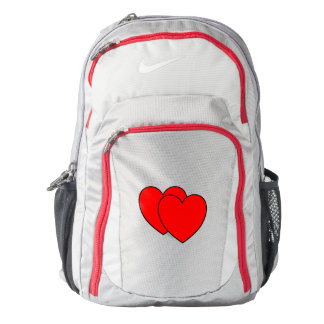 Two Hearts as One Backpack