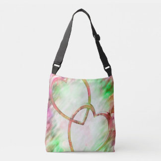 TWO HEARTS CROSS BODY BAG