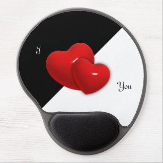 Two Hearts Customizable Gel Mousepad