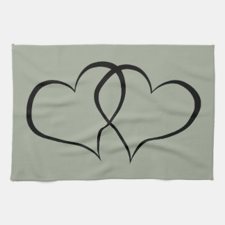 Two Hearts. Heart-to-heart Kitchen Towels