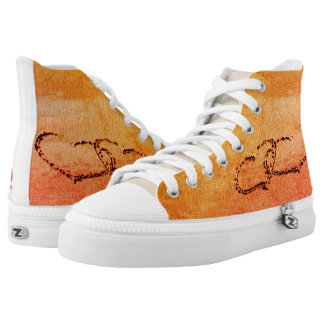 Two Hearts In The Sand High Tops
