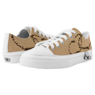 Two Hearts In The Sand Low Tops