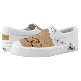 Two Hearts In The Sand Slip-On Shoes