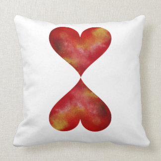 Two Hearts Pillow
