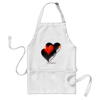 """""""Two Hearts""""* Standard Apron"""