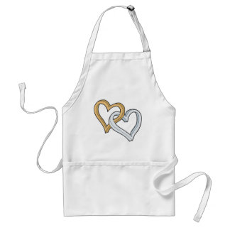 Two Hearts T-shirts and Gifts Standard Apron