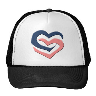 Two Hearts T-shirts and Gifts Hats