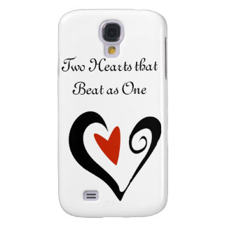 Two Hearts that Beat as One Galaxy S4 Cover