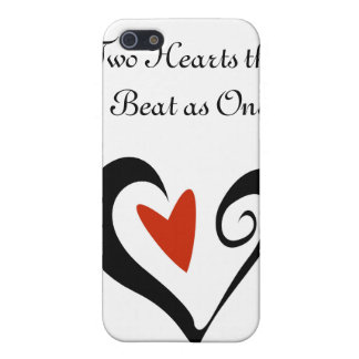 Two Hearts that Beat as One iPhone 5 Covers