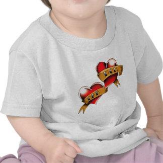 Two Hearts Tshirt
