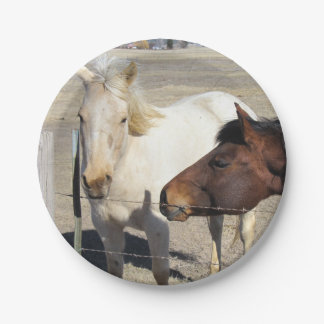 Two Horses Paper Plates