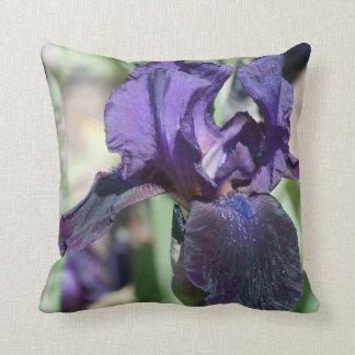 Two Iris Pillow