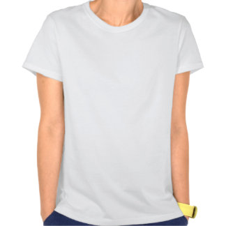 Two Kangaroos Silhouetted in an Oval Design Tee Shirts