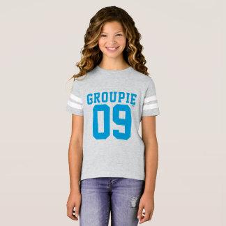 two kats groupie 09 girls football shirt