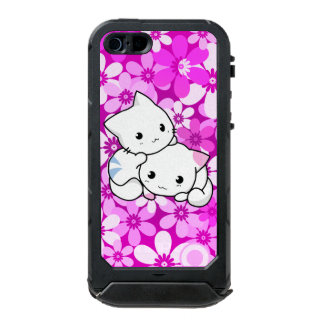 Two Kittens on Pink Background Incipio ATLAS ID™ iPhone 5 Case