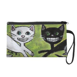 Two Kitties Wristlet