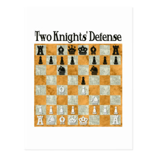 Two Knights Defense Postcard