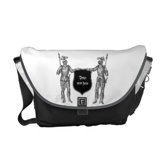 Two Knights Messenger Bag