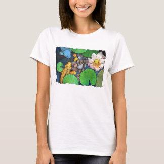 """""""Two Koi and Lotus"""" by Agni Kama T-Shirt"""