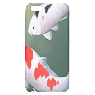 Two Koi Japanese Woodblock Print Speck iPhone 4 Ca Case For iPhone 5C