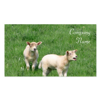 Two Lambs Business Cards