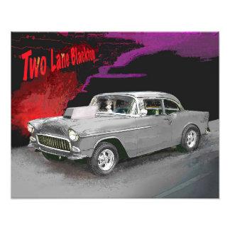Two Lane Blacktop Movie Car Print