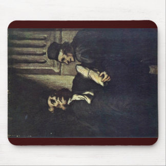 Two Lawyers,  By Honoré Daumier Mouse Pad
