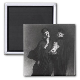 Two Lawyers, c.1862 Magnets