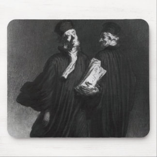 Two Lawyers, c.1862 Mouse Pad