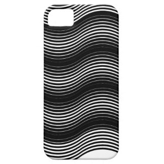 Two layers consisting of curves with identical inc iPhone 5 covers