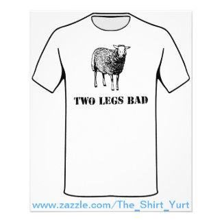 Two Legs Bad Sheep 11.5 Cm X 14 Cm Flyer