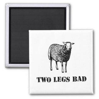 Two Legs Bad Sheep Fridge Magnets