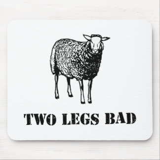 Two Legs Bad Sheep Mouse Pad
