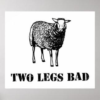 Two Legs Bad Sheep Print