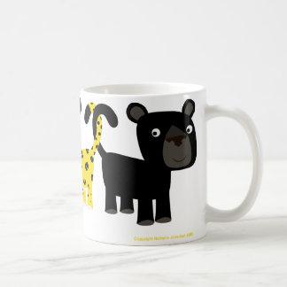 Two Leopards mug