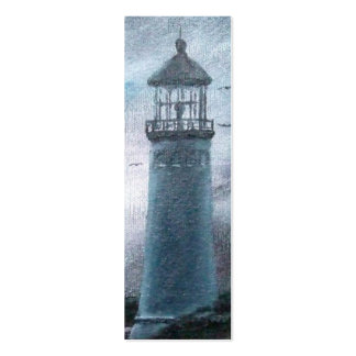 Two Lighthouses Bookmark Business Card