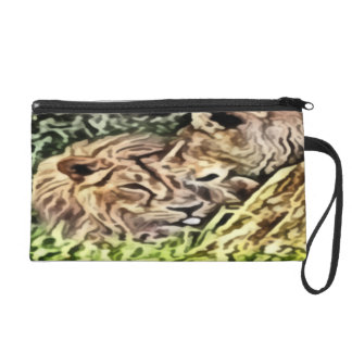 two lions painting wristlets