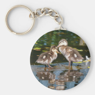 Two Little Duckies Key Chains