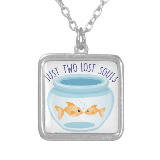Two Lost Souls Silver Plated Necklace