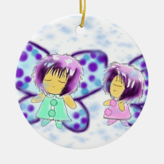 Two Lovely Sisters Christmas Ornament
