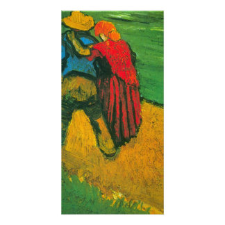 Two Lovers by Vincent van Gogh Personalised Photo Card